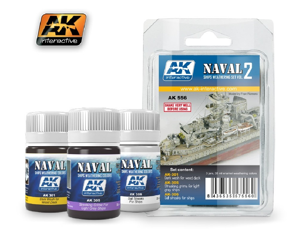 AK Interactive - Ships Vol.2 Weathering Set