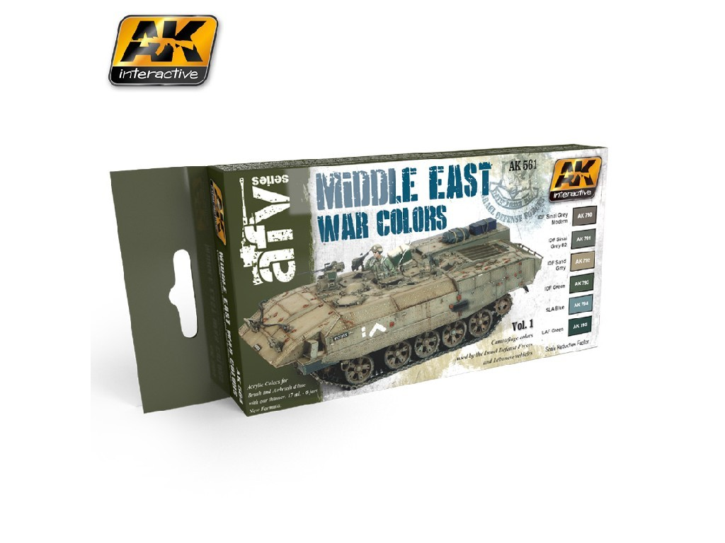 AK Interactive - Middle East War vol.1 Colors Set