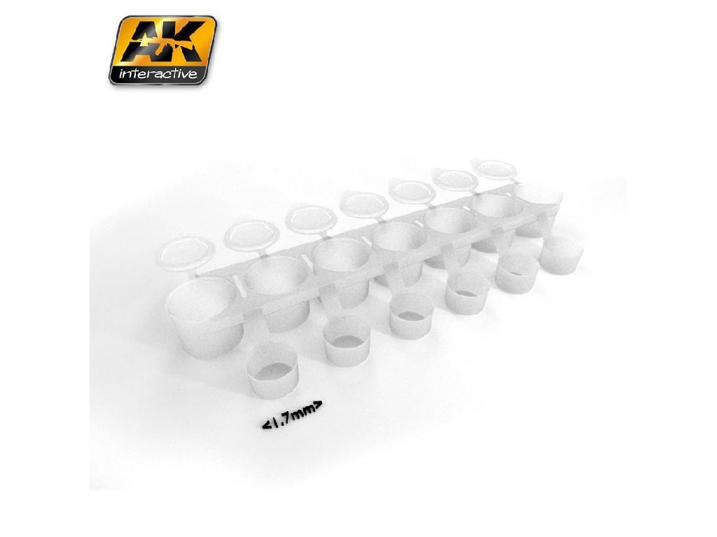 AK Interactive - Mix Addict Small (Empty Paint Strip 7X5 ml)