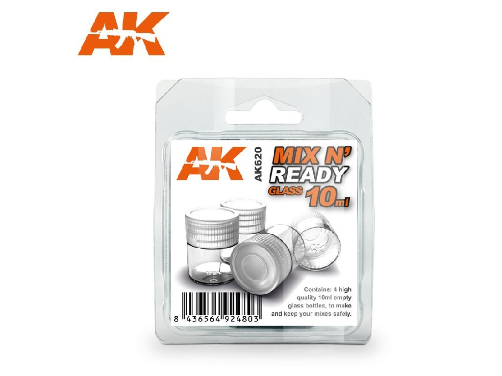 AK Interactive - Mix n Ready Glass 10ml