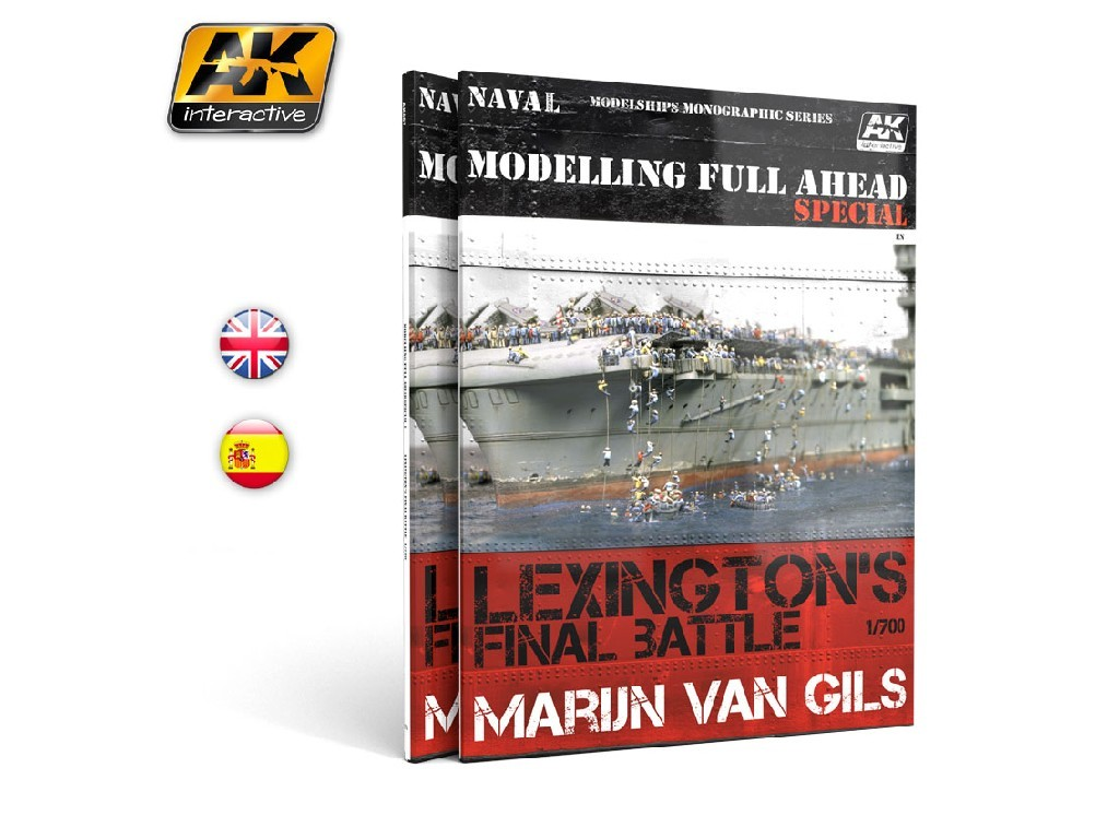 AK Interactive - Modelling Full Ahead Special (English)