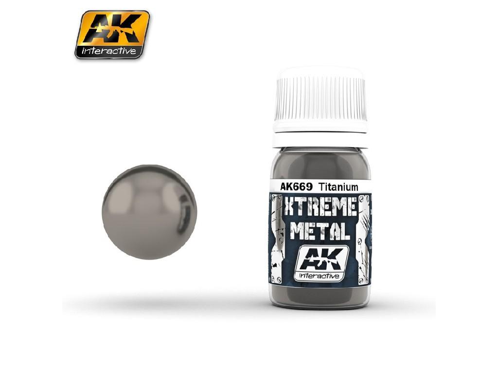 AK Interactive - Xtreme Metal Titanium