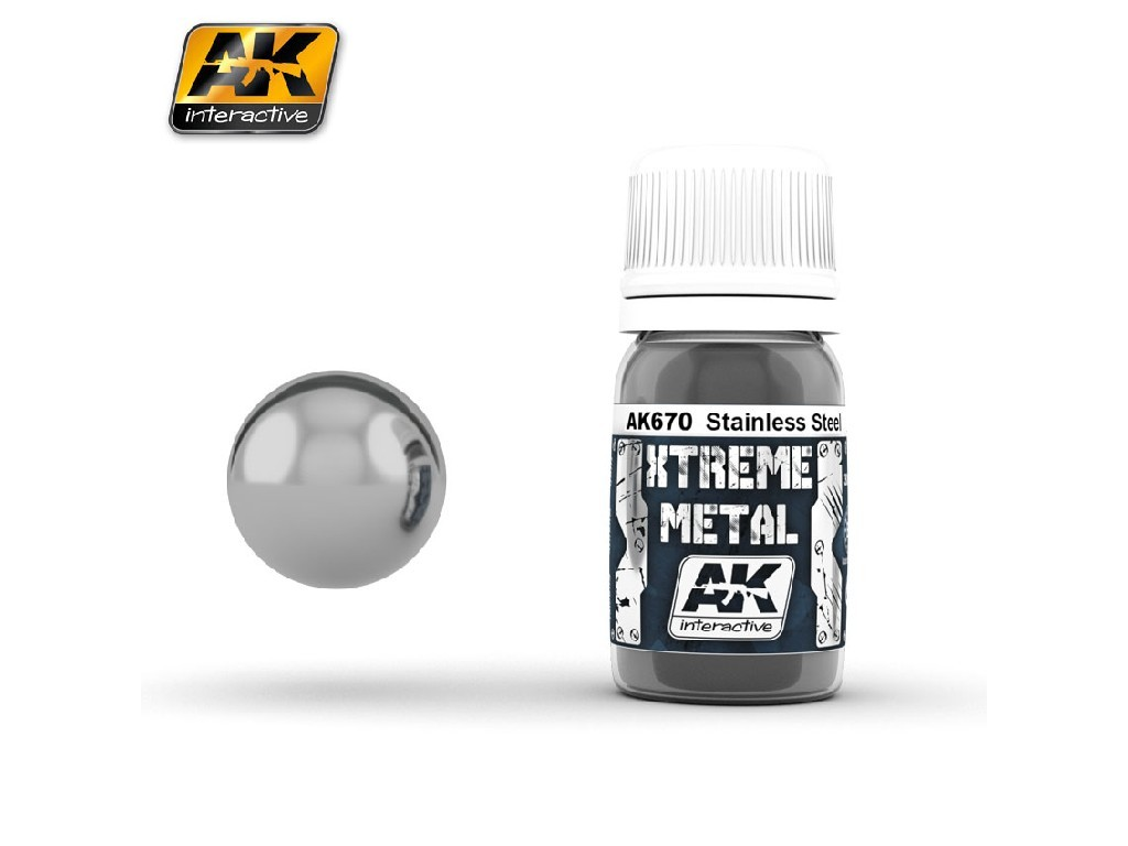 AK Interactive - Xtreme Metal Stainless Steel