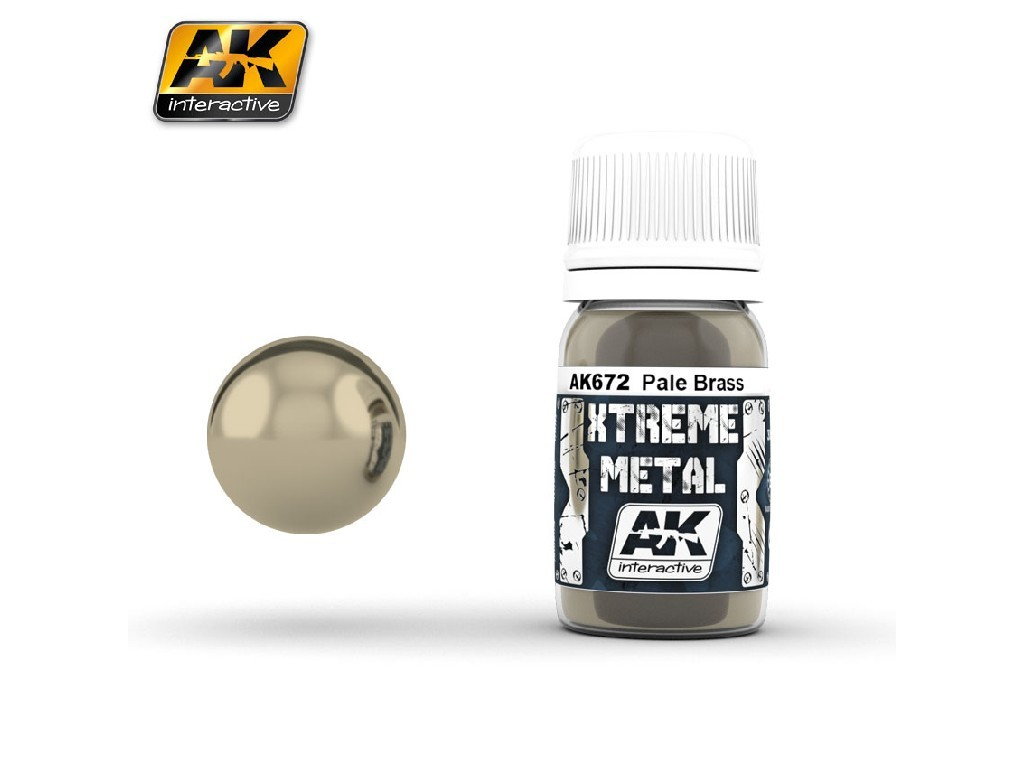 AK Interactive - Xtreme Metal Pale Brass