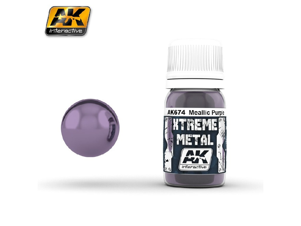 AK Interactive - Xtreme Metal Metallic Purple