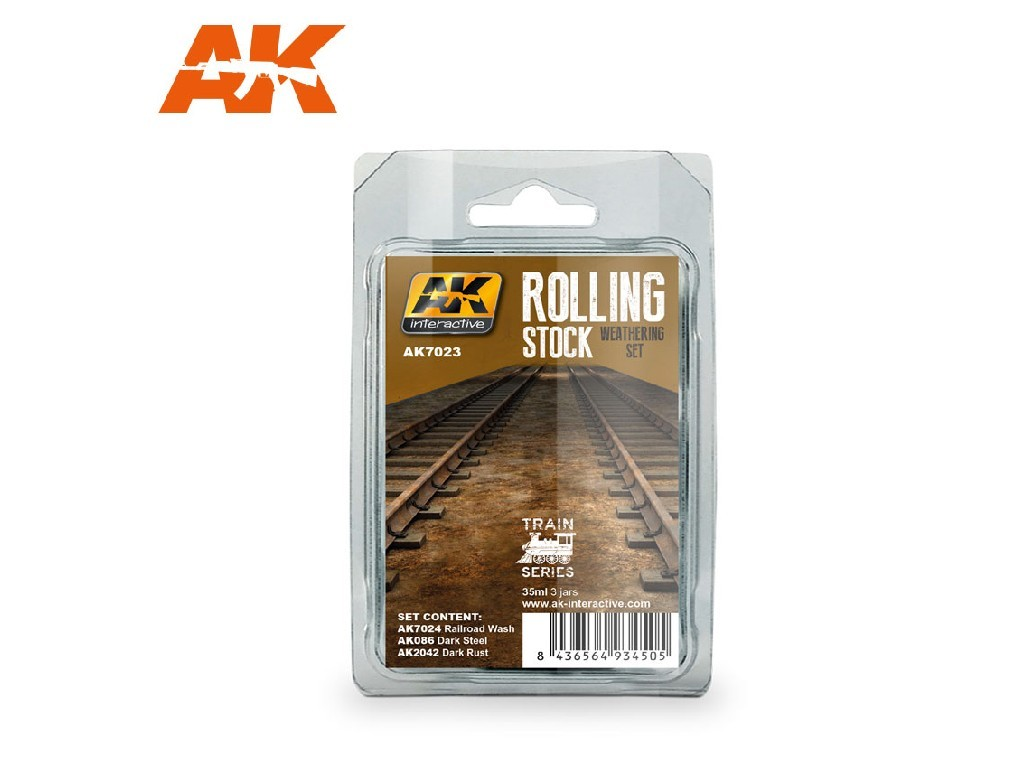AK Interactive - Rolling Stock Weathering Set Train Series