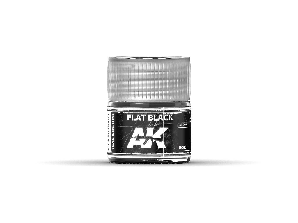 AK Interactive - Flat Black 10ml