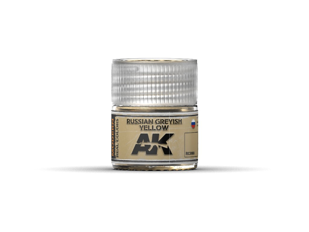 AK Interactive - Russian Greyish Yellow 10ml