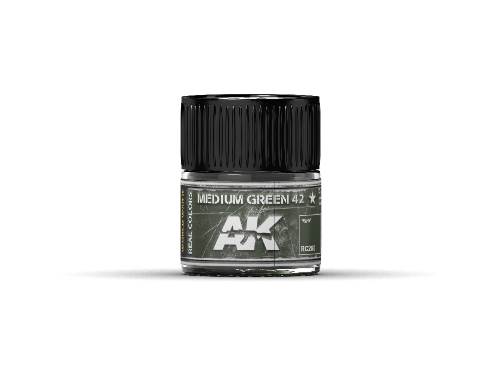 AK Real Colors - Medium Green 42 10 ml.