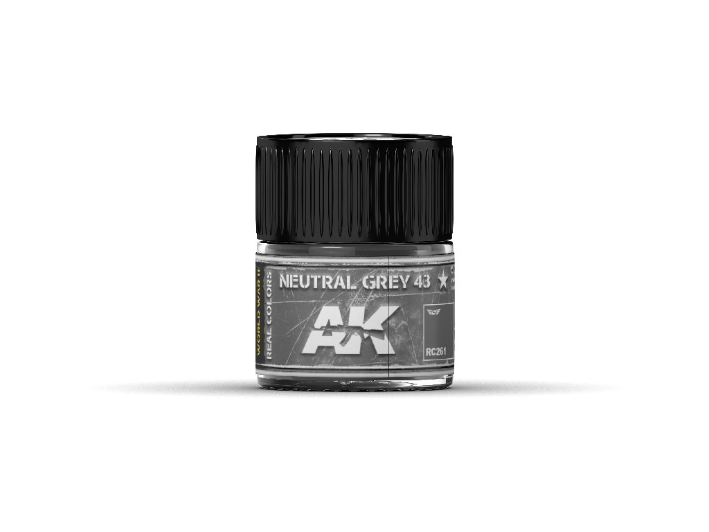 AK Real Colors - Neutral Grey 43 10 ml.