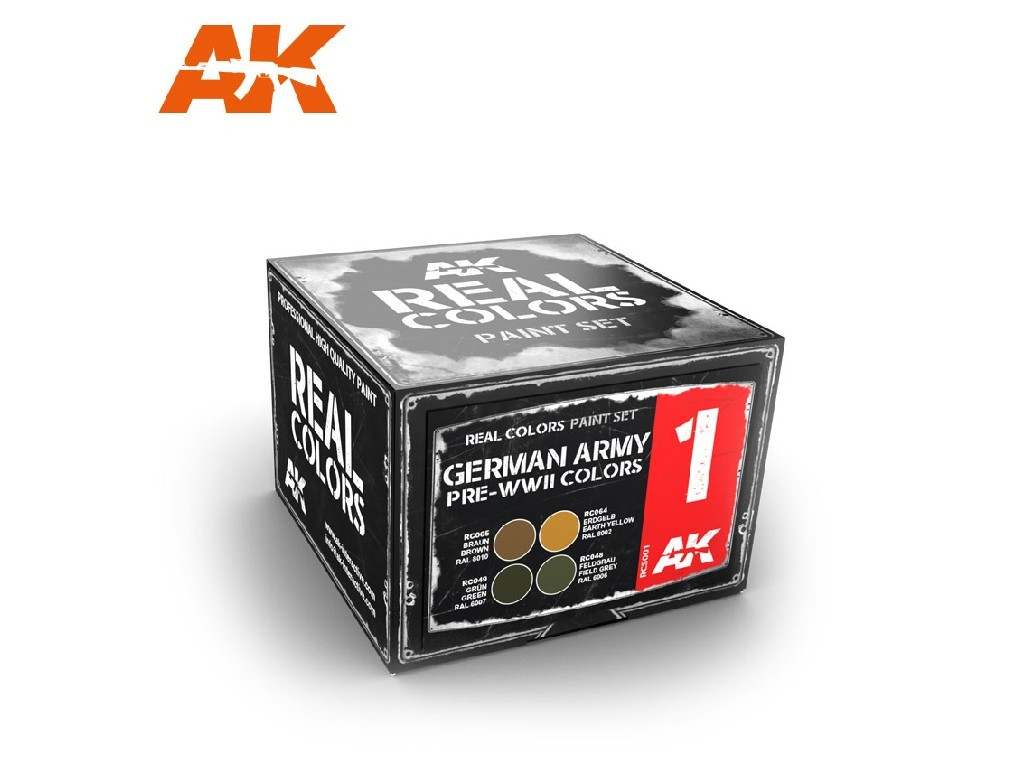 AK Interactive - German Army Pre-WWII Colors Set