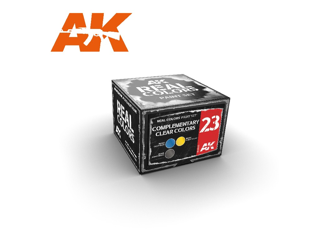 AK Real Colors Set - Complementary Clear Colors