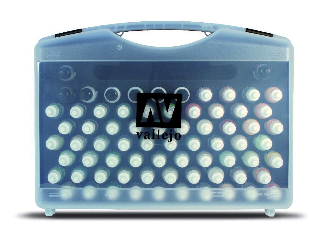 Vallejo Model Color Set - Basic Colors + Brushes 72x17 ml. 70172