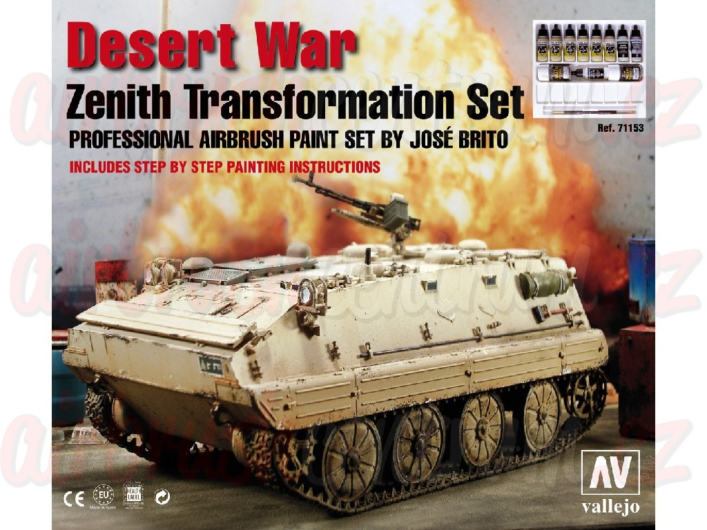 Vallejo - Model Air Set (AF) 71153 Desert War