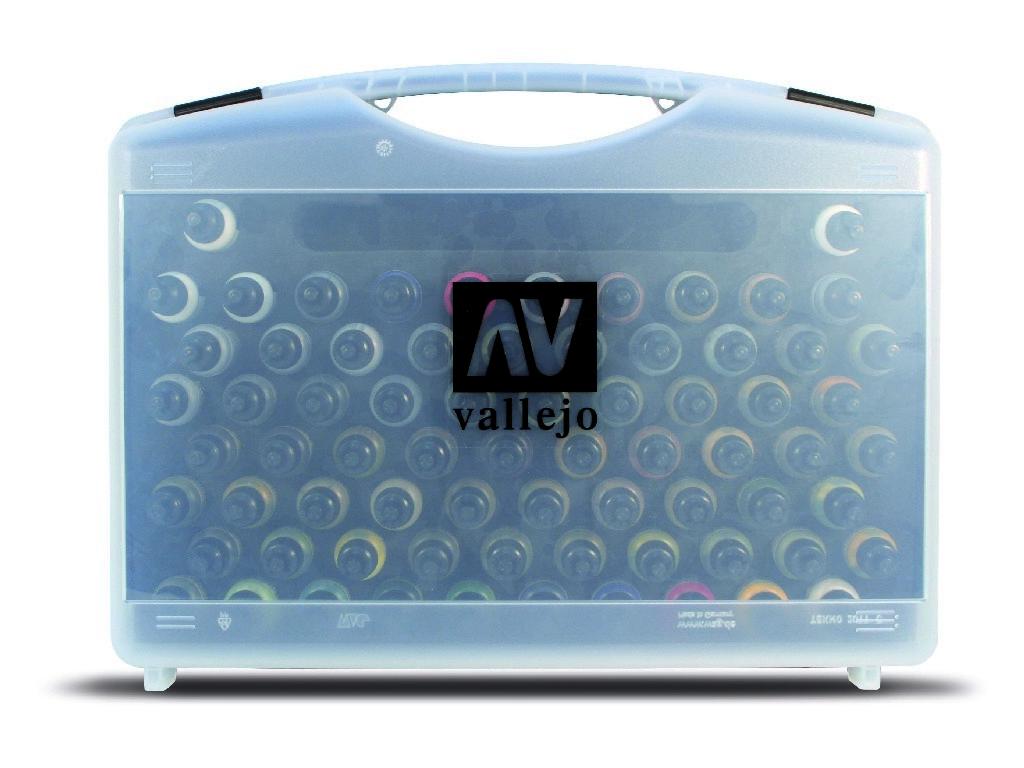 Vallejo - Model Air Set 71170 Základní barvy + štětce 72x17 ml.