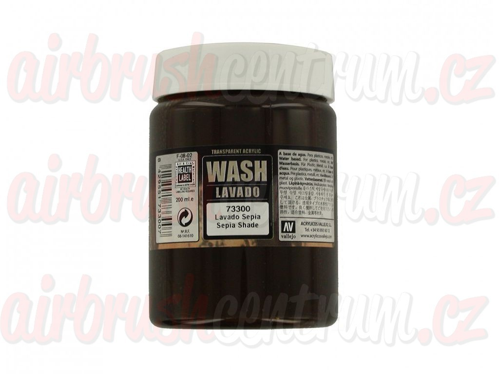 Vallejo Game Color - Sepia Wash 73300 200 ml.
