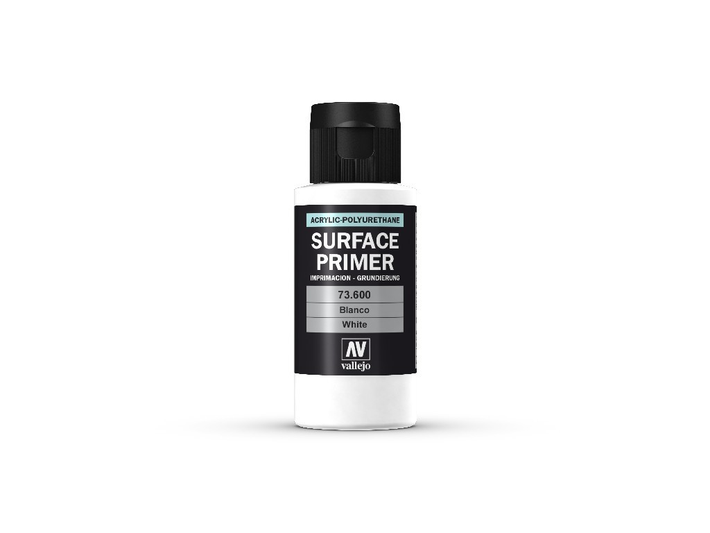 Vallejo - Surface Primer 73600 White 60 ml.