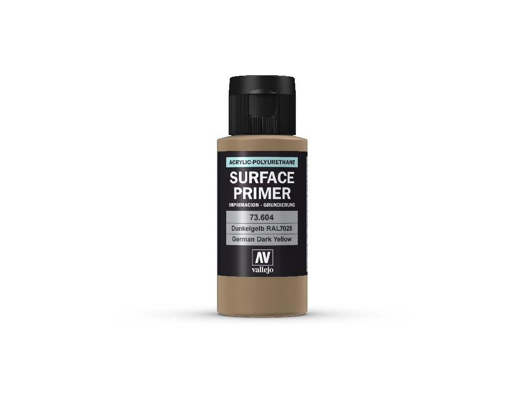 Vallejo - Surface Primer 73604 Ger. Dark Yellow 60 ml.