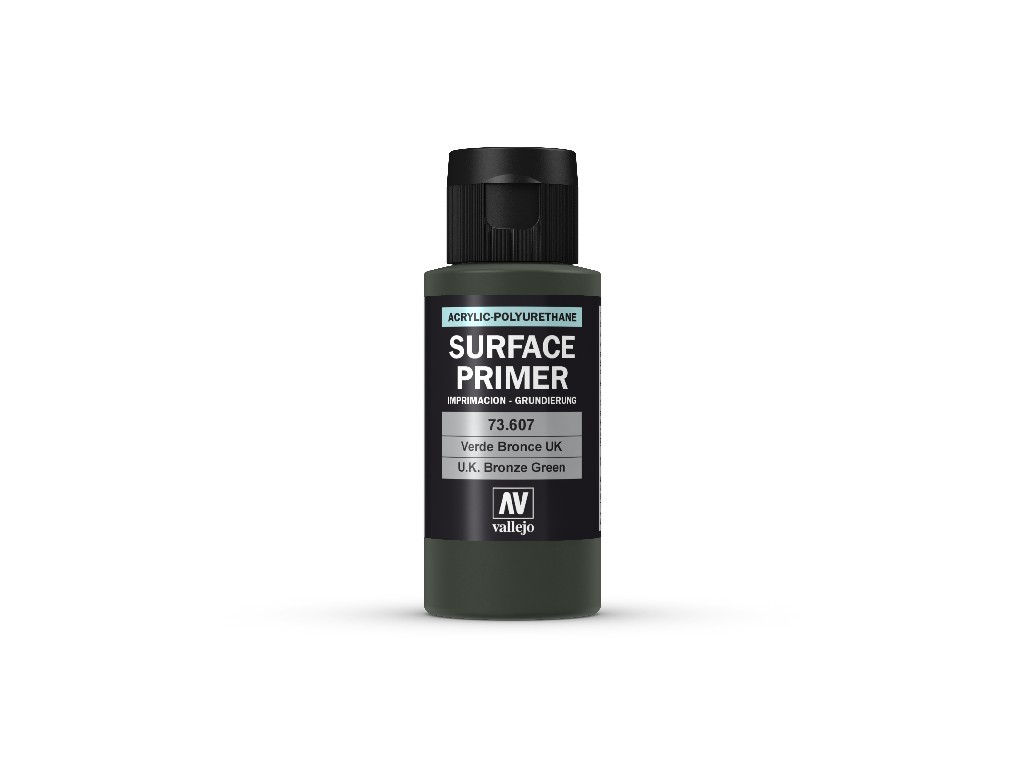 Vallejo - Surface Primer 73607 U.K. Bronze Green 60 ml.