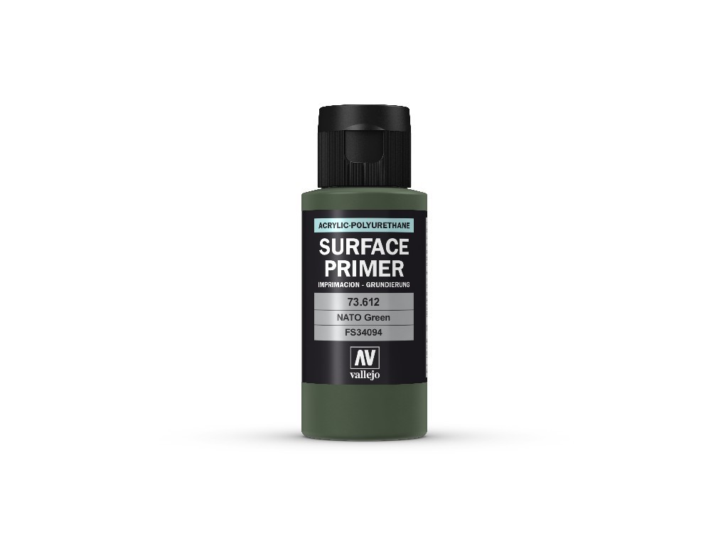 Vallejo - Surface Primer 73612 NATO Green 60 ml.