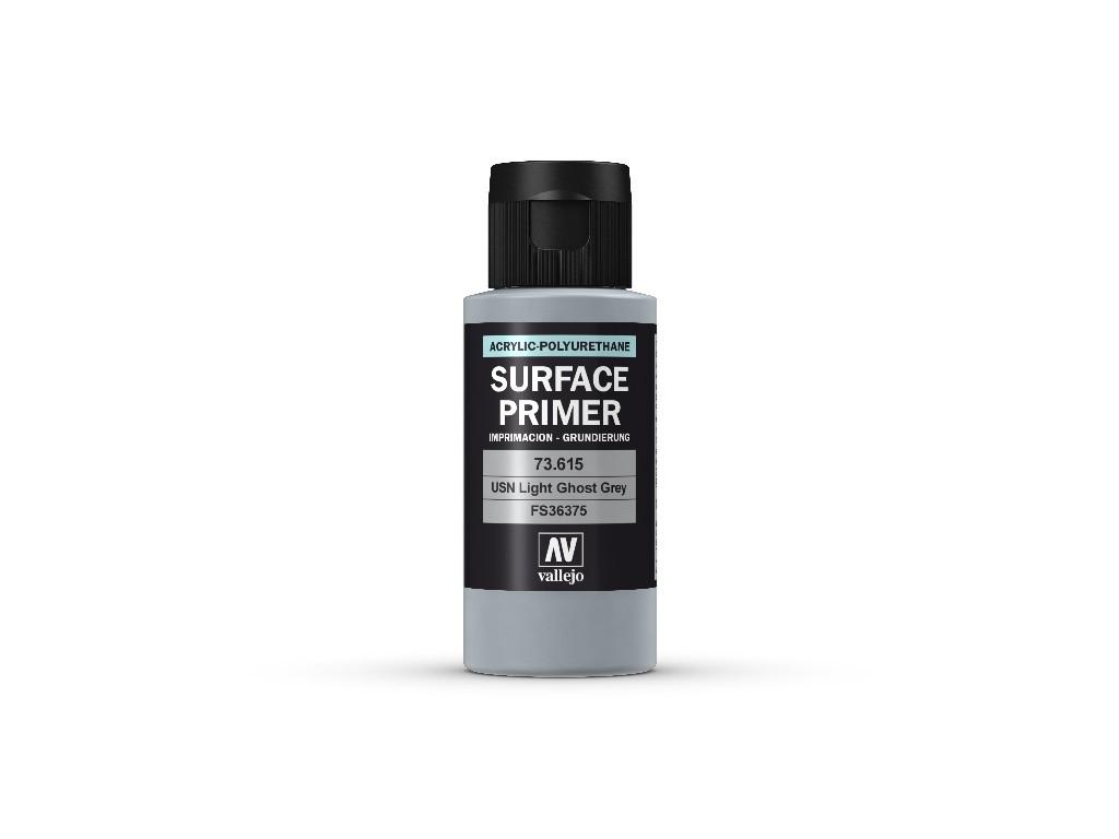 Vallejo Surface Primer - USN Light Ghost Grey  73615 60 ml.