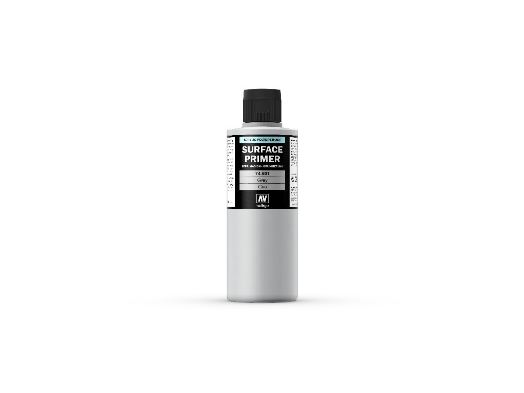 Vallejo Surface Primer - Grey 74601 200 ml.