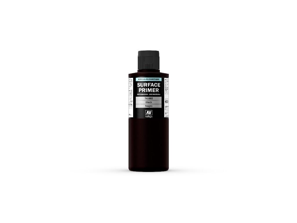Vallejo Surface Primer - Black 74602 200 ml.