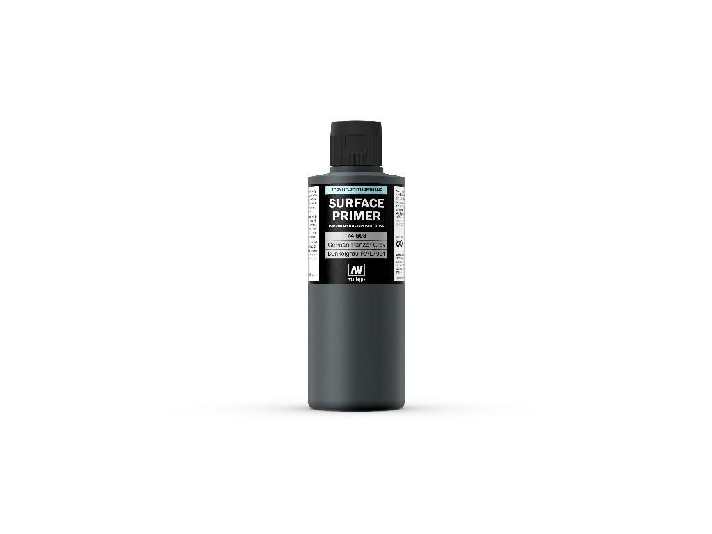 Vallejo Surface Primer - Ger. Panzer Grey 74603 200 ml.