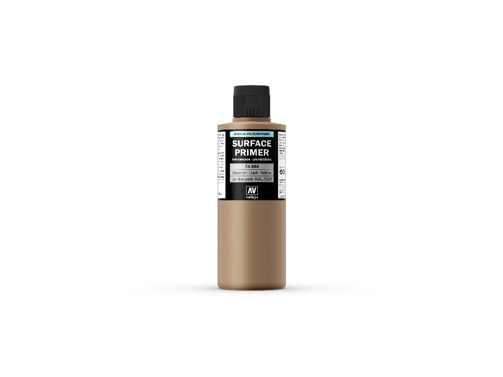 Vallejo Surface Primer - Ger. Dark Yellow 74604 200 ml.