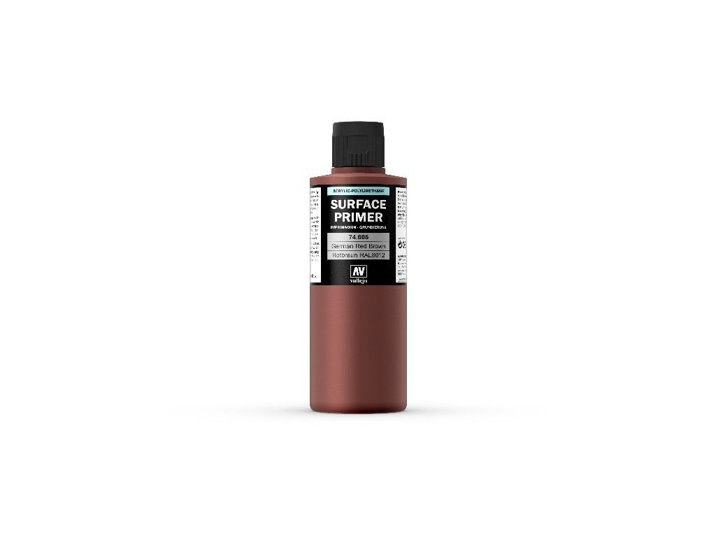 Vallejo Surface Primer - Ger. Red Brown 74605 200 ml.