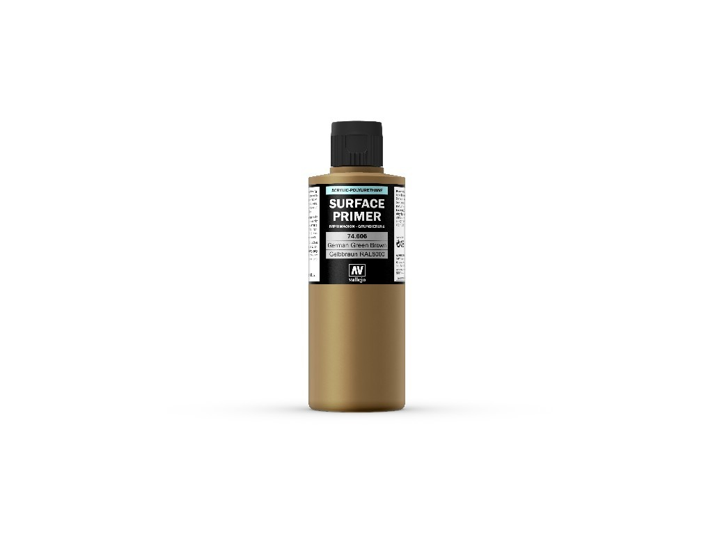 Vallejo Surface Primer - Ger. Green Brown 74606 200 ml.