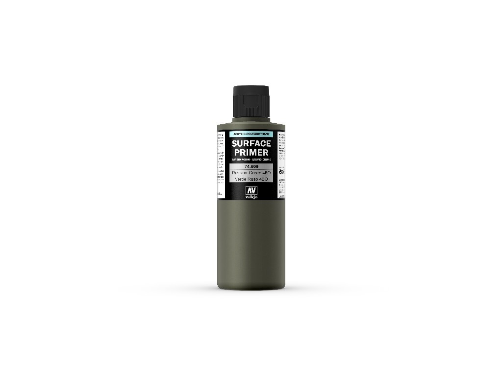 Vallejo Surface Primer - Russian Green 4BO 74609 200 ml.