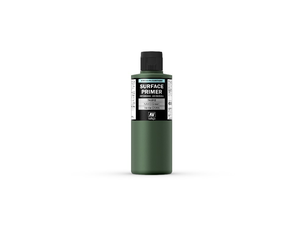 Vallejo Surface Primer - NATO Green 74612 200 ml.