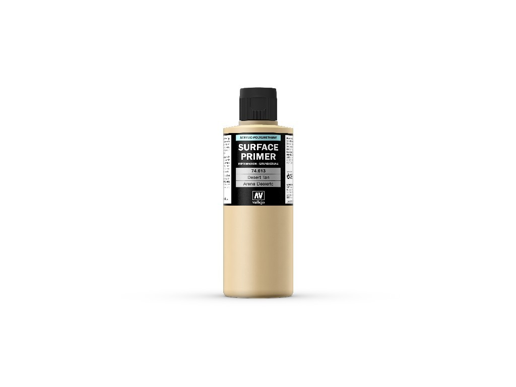 Vallejo - Surface Primer 74613 Desert Tan Base 200 ml.