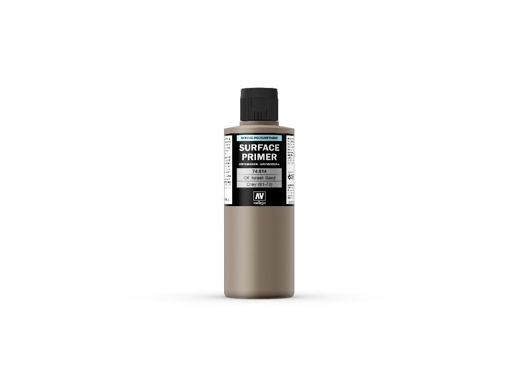 Vallejo - Surface Primer 74614 IDF Israelí Sand Grey 61-73 200 ml.