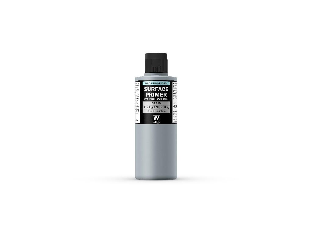 Vallejo Surface Primer - USN Light Ghost Grey  74615 200 ml.