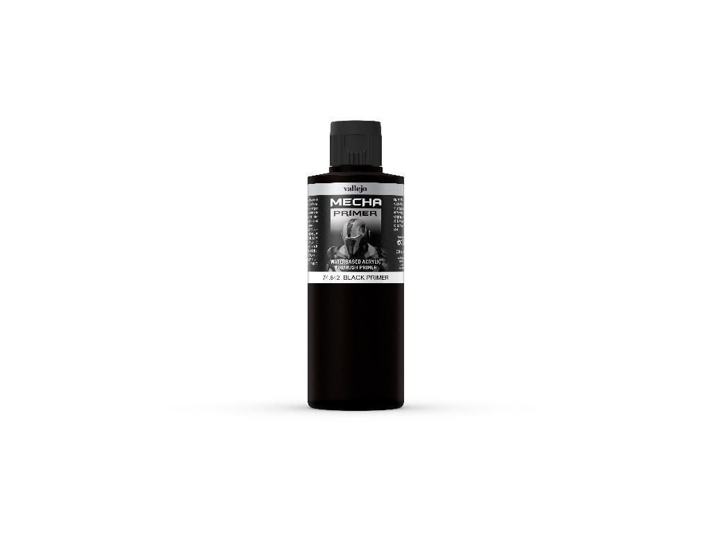 Vallejo Surface Primer - Black 74642 200 ml.