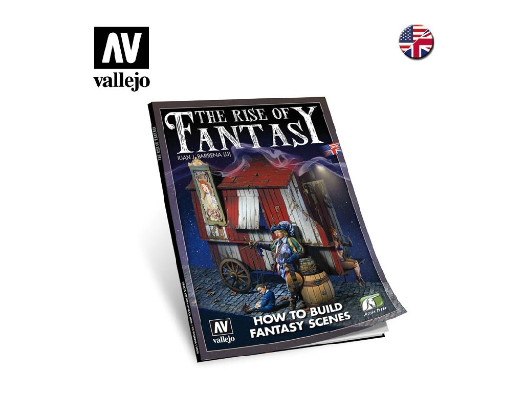 Vallejo - Kniha 75005 The Rise of Fantasy