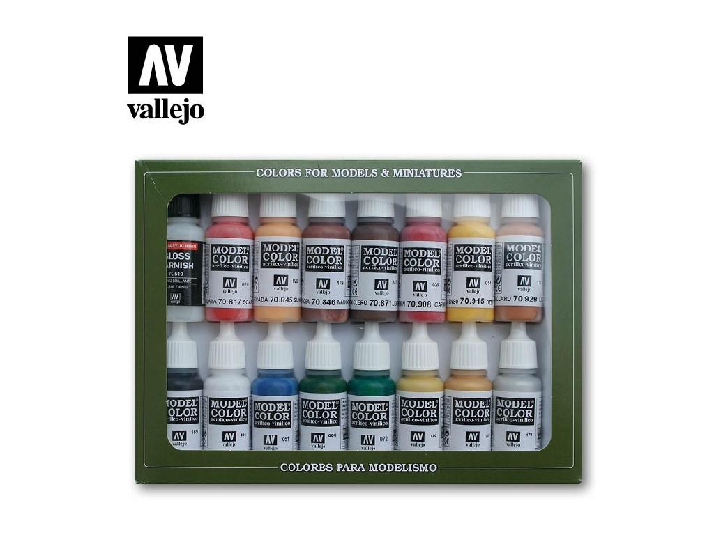 Vallejo Model Color Set - American Revolution 16x17 ml. 70148