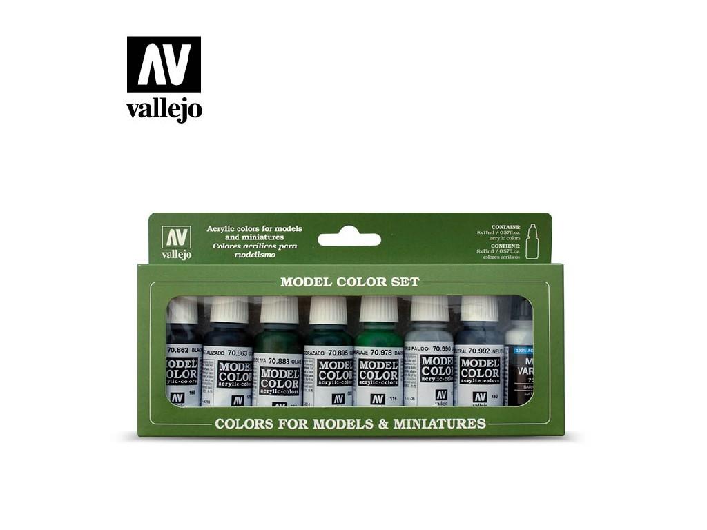 Vallejo Model Color Set - 70138 Demag Africa Corps 8x17 ml.