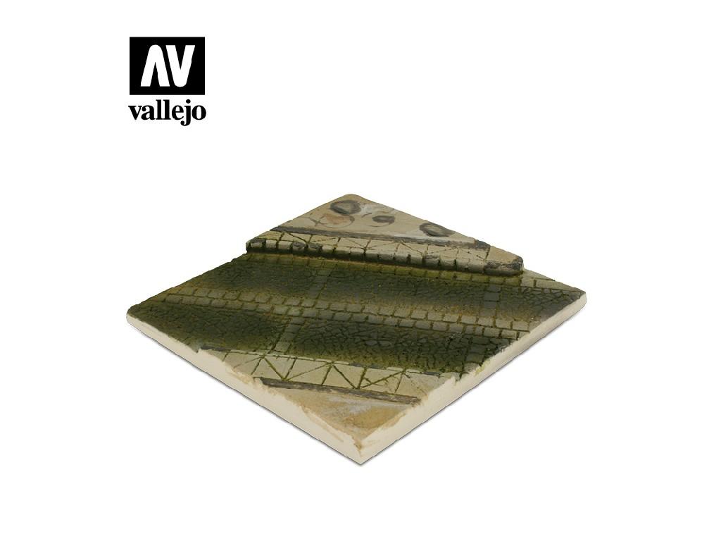Vallejo - Scenics SC001 Dlážděná silnice 14x14cm 1/35