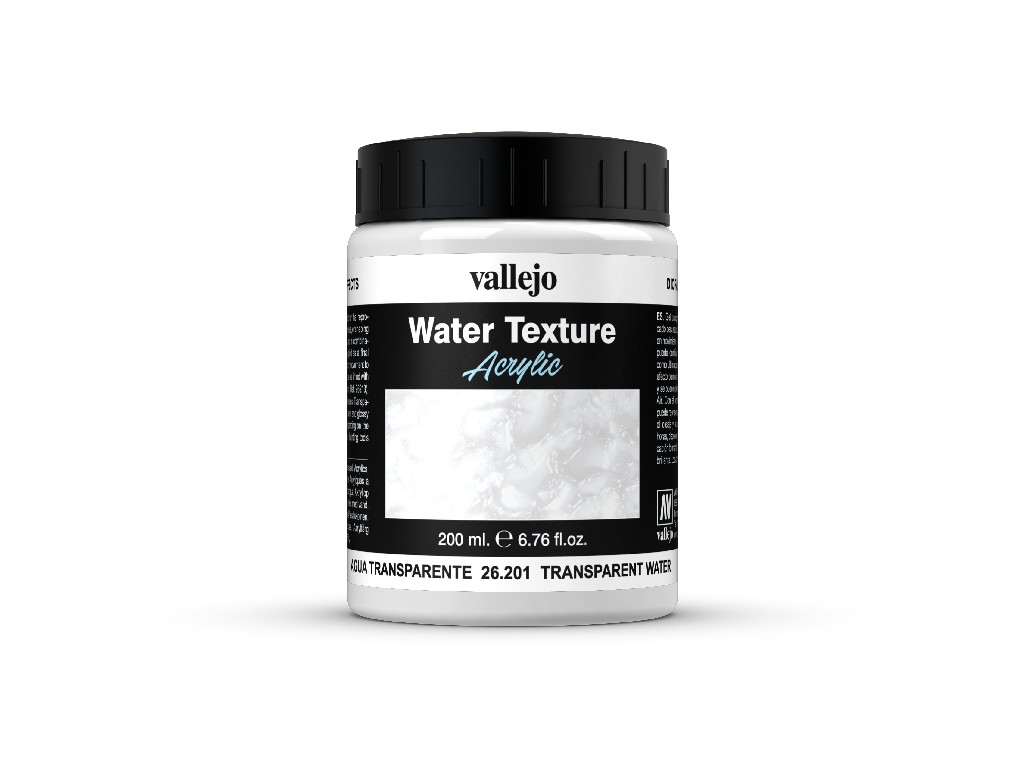 Vallejo Diorama Effects - Transparent water (colorless)  26201 200 ml.