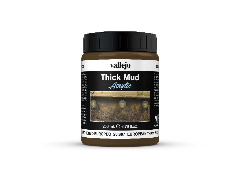 Vallejo Diorama Effects - European Thick Mud 26807 200 ml.
