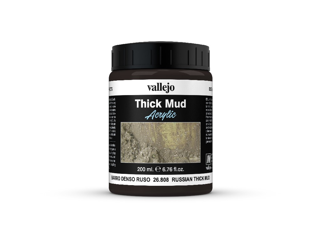 Vallejo Diorama Effects - Russian Thick Mud  26808 200 ml.
