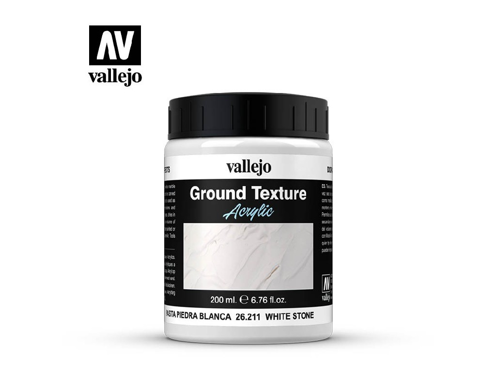 Vallejo Diorama Effects - White Stone Paste  26211 200 ml.