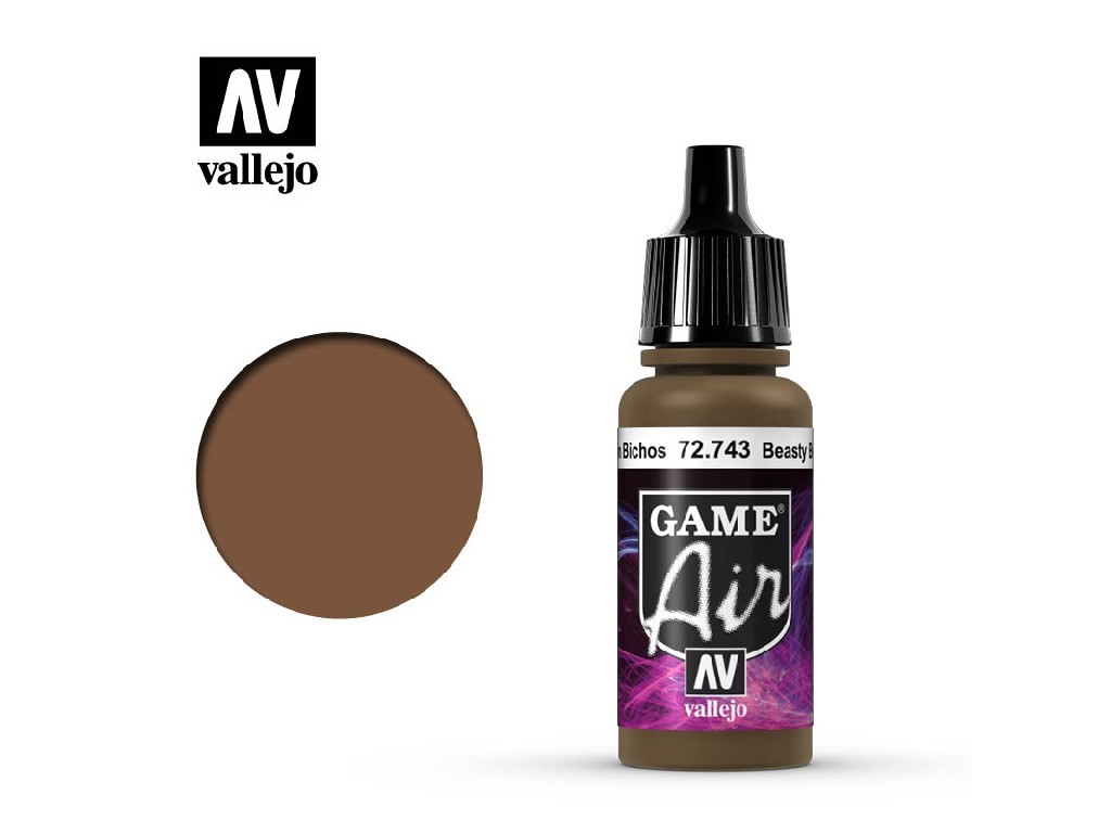 Vallejo - Game Air 72743 Beasty Brown 17 ml.
