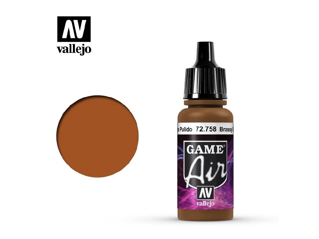 Vallejo - Game Air 72758 Brassy Brass 17 ml.