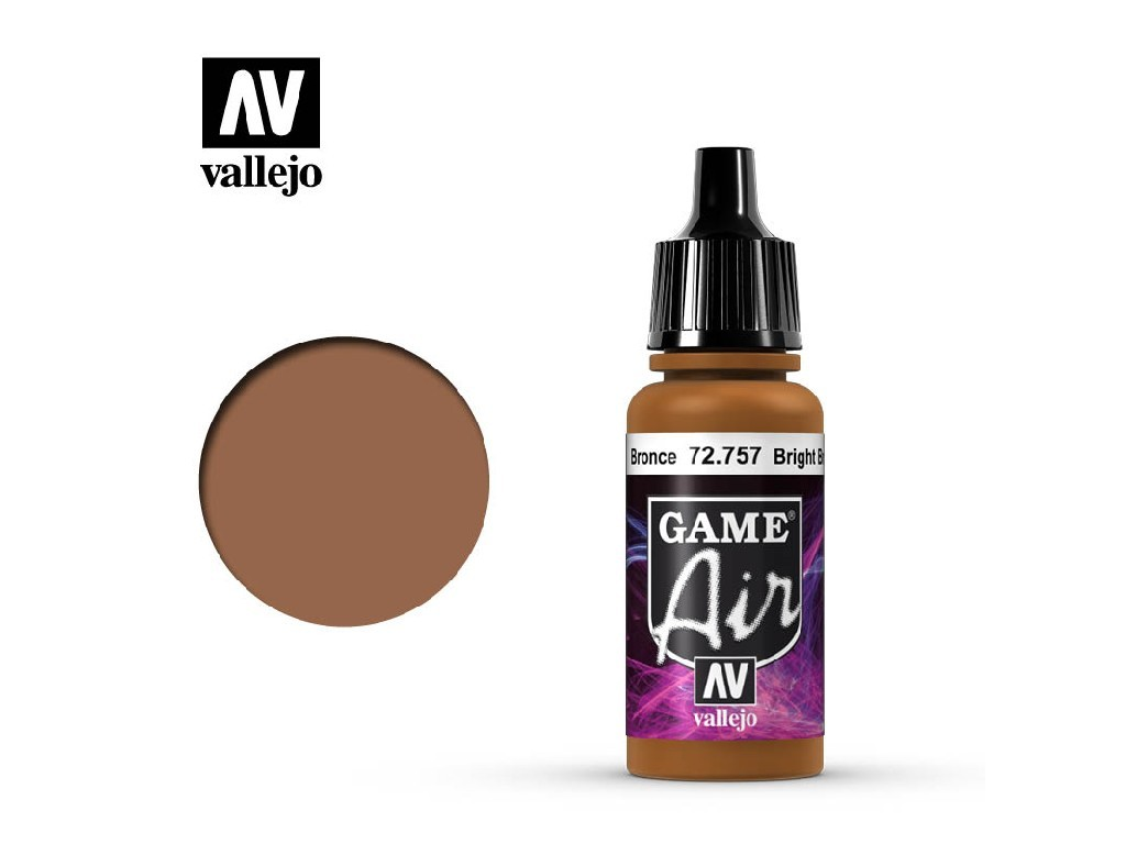 Vallejo - Game Air 72757 Bright Bronze 17 ml.