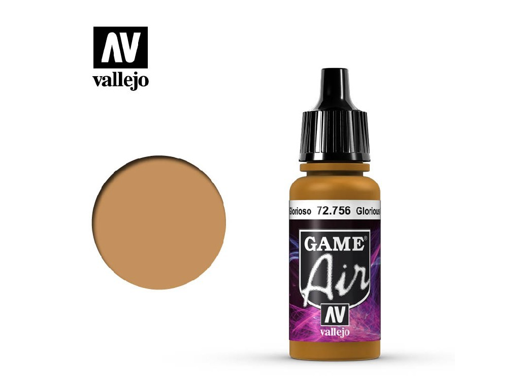 Vallejo - Game Air 72756 Glorious Gold 17 ml.