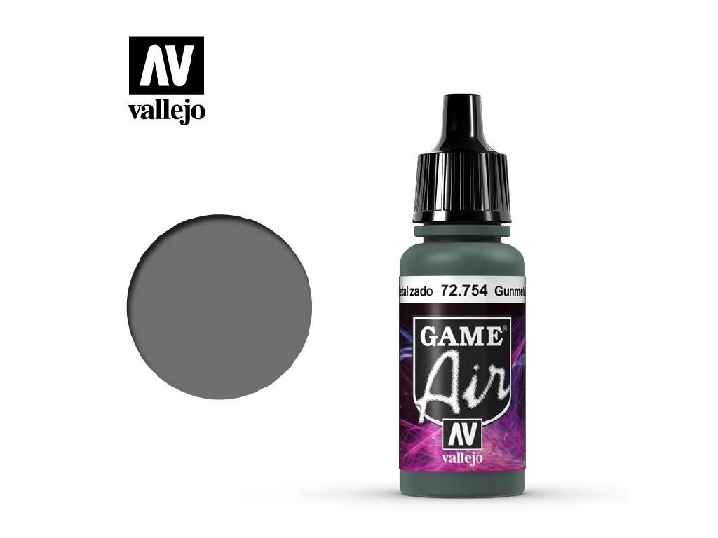 Vallejo - Game Air 72754 Gunmetal 17 ml.